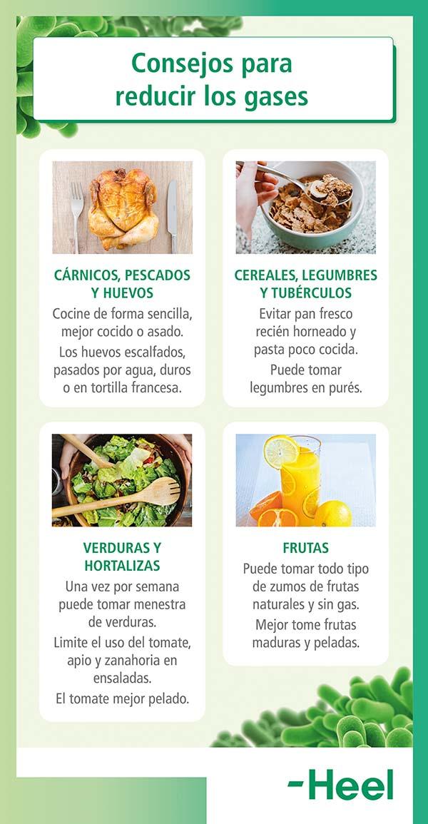¿Cuáles son los alimentos que producen gases? - HeelProbiotics - HeelEspaña