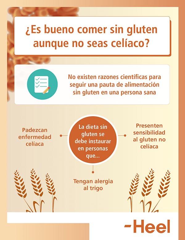 Dieta sin gluten para los no celiacos - HeelEspaña