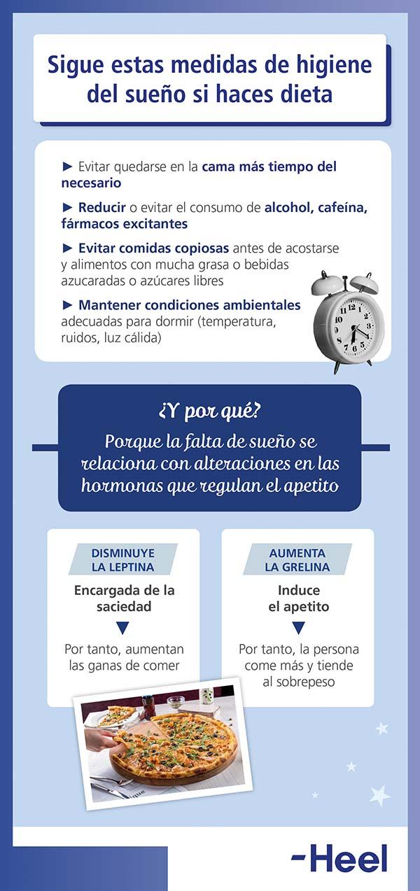 Higiene del sueño: calidad de vida - HeelEspaña