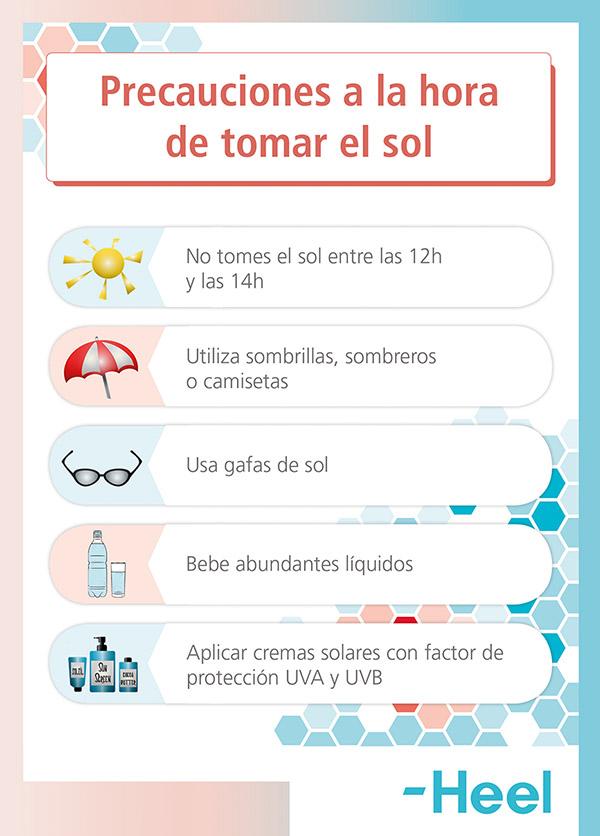 Quemaduras del sol y Vitamina E - HeelEspaña