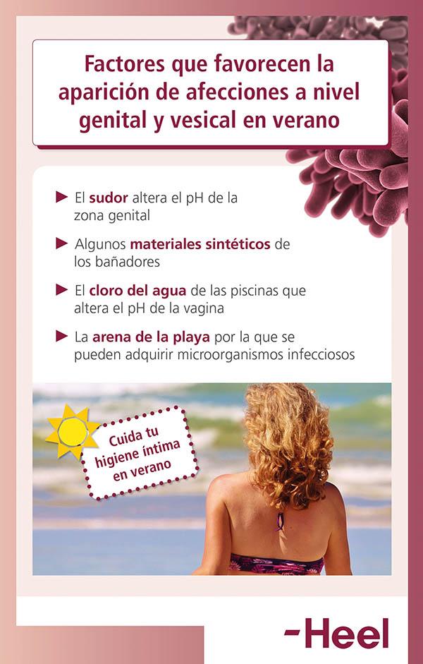 Cuida tu higiene íntima en verano - HeelProbiotics - HeelEspaña