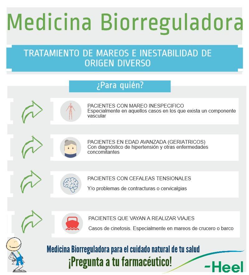 Medicina Biorreguladora: Tratamiento mareo