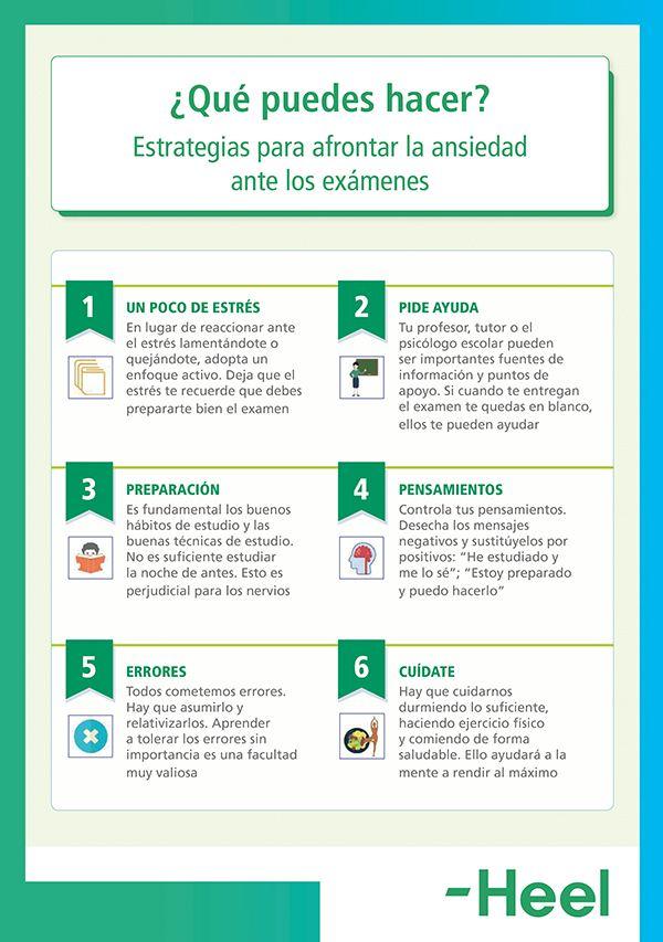 ¿Por qué los exámenes provocan ansiedad? - HeelEspaña