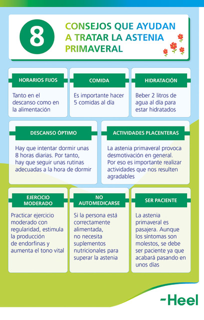 Consejos para evitar la astenia primaveral - HeelEspaña