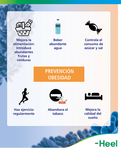 Consejos para prevenir la obesidad - HeelProbiotics - HeelEspaña