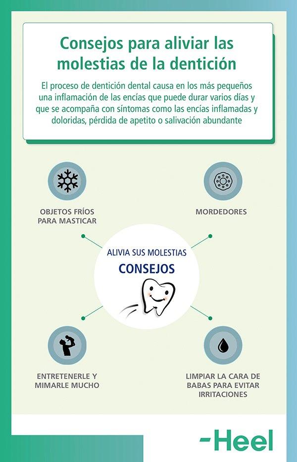 Cómo aliviar las molestias que produce la dentición - HeelEspaña