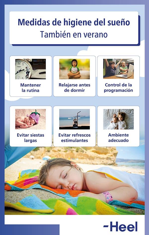 Mejora el sueño con buena higiene del sueño