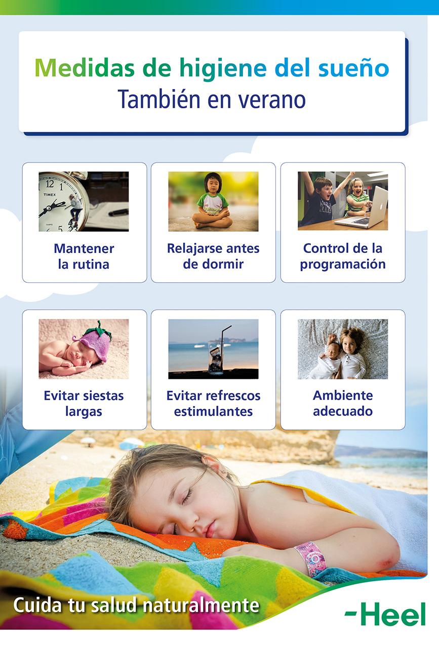 Medidas de higiene de sueño en verano - HeelEspaña