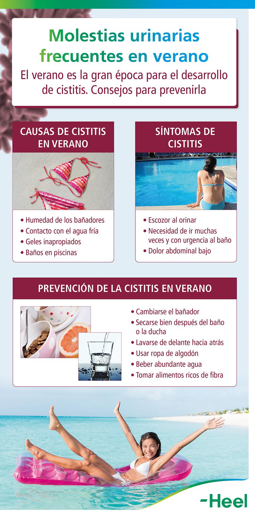 Molestias urinarias frecuentes en verano - HeelProbiotics - HeelEspaña