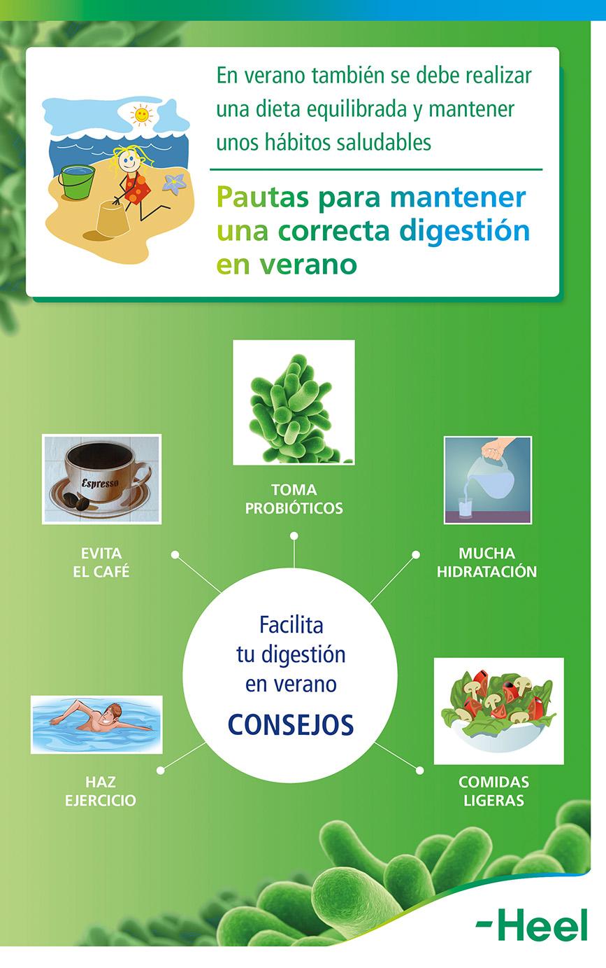 Pautas para facilitar la digestión: también con probióticos