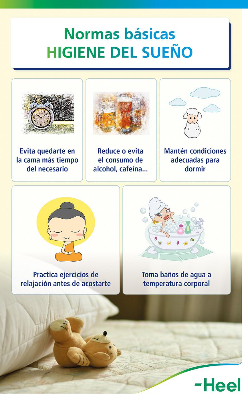 Medidas para conseguir a conciliar el sueño - HeelEspaña