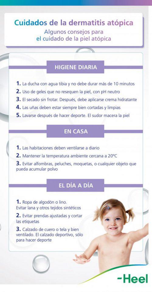 Estrategias de prevención para la dermatitis atópica - HeelEspaña