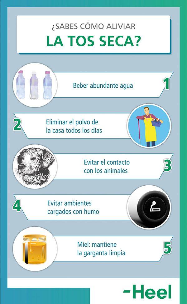 ¿Sabes cómo aliviar la tos seca? - HeelEspaña