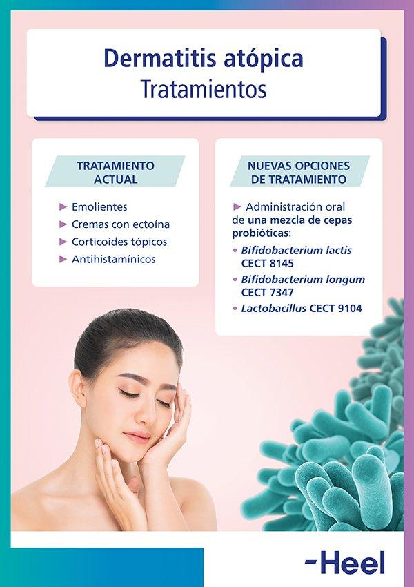 Tratamientos para la dermatitis atópica - HeelEspaña