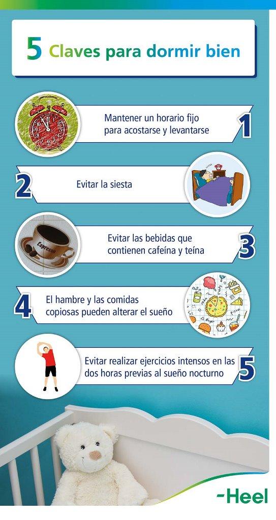 Higiene del sueño: Medidas - Heel España