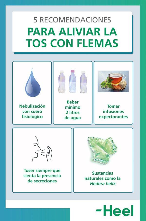 Cómo aliviar la tos con flema - HeelEspaña