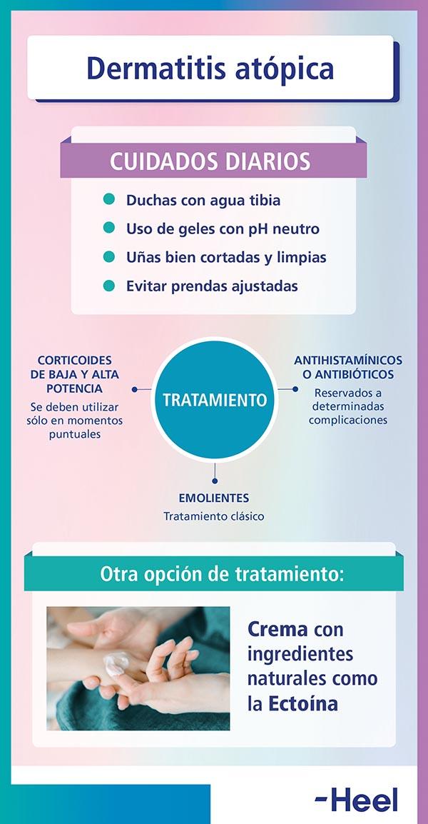 Ectoína: crema para piel atópica - HeelEspaña