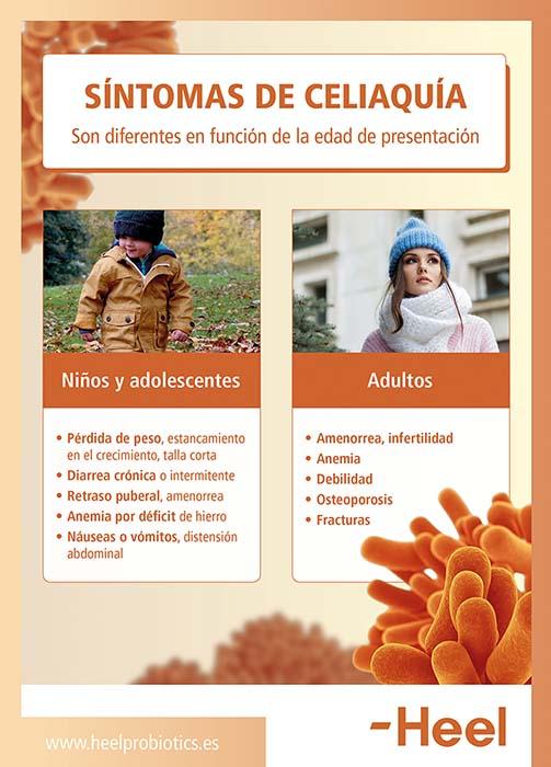 Síntomas de celiaquía: diferencias entre niños y adultos - HeelProbiotics - HeelEspaña