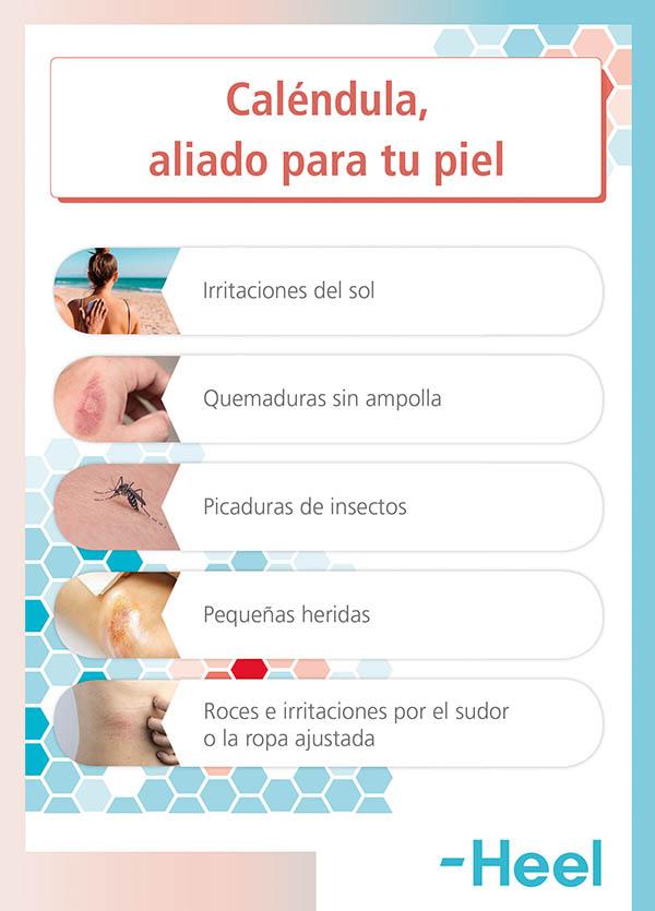 Caléndula: ayuda para la cicatrización - HeelEspaña