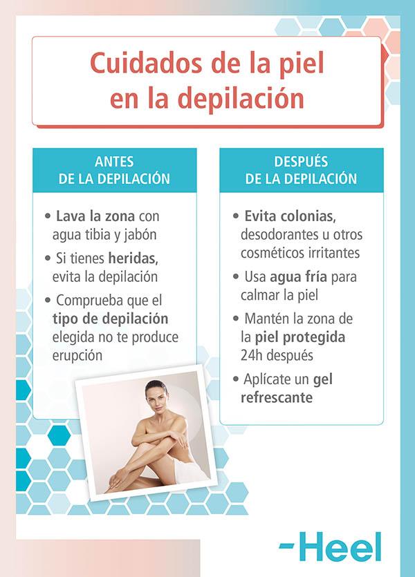Quemaduras por depilación: ¿cómo aliviarlas? - HeelEspaña