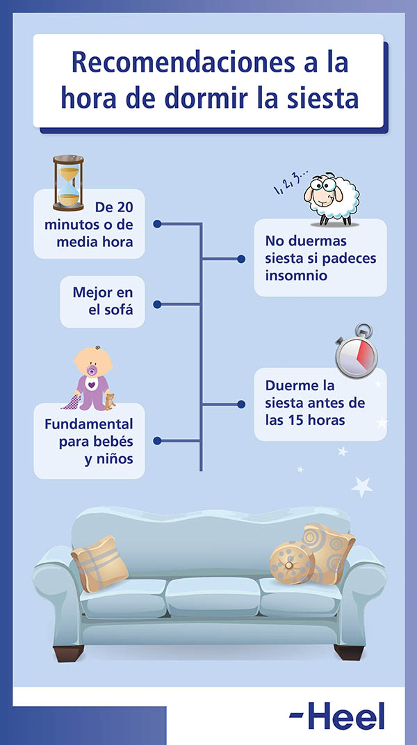 ¿Es beneficioso dormir la siesta? - HeelEspaña