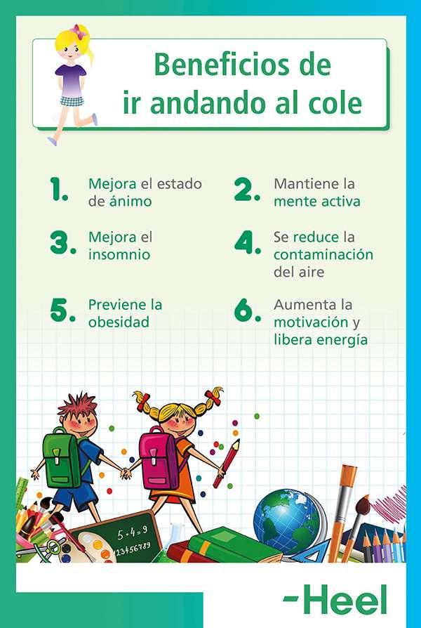 Descubre las ventajas de ir andando al colegio - HeelEspaña