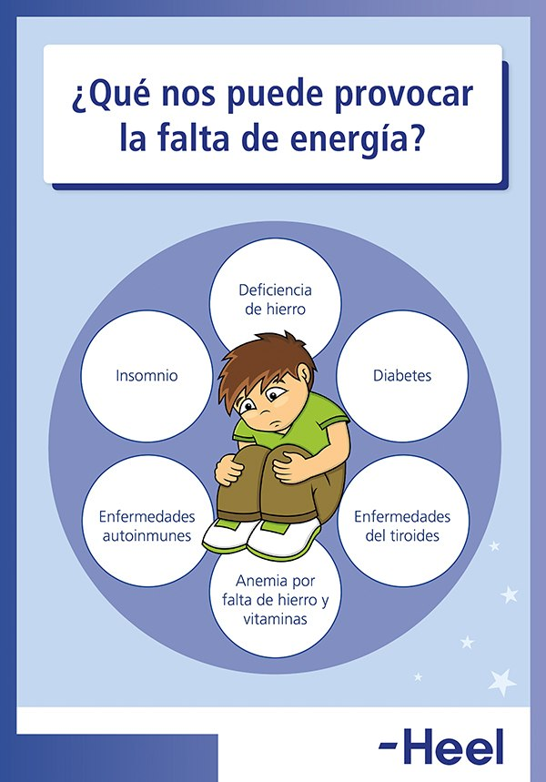 ¿Qué provoca la falta de energía? - HeelEspaña