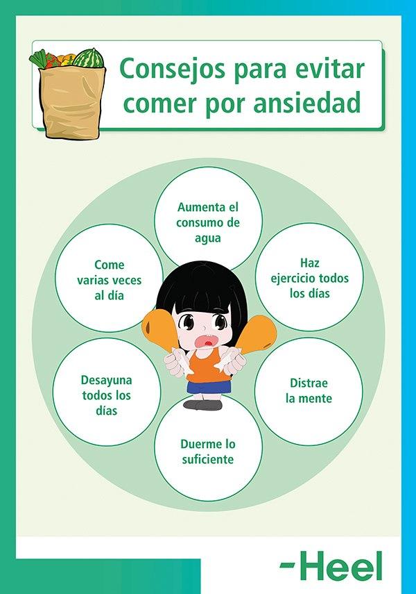 ¿Se puede controlar la ansiedad por comer? - HeelEspaña