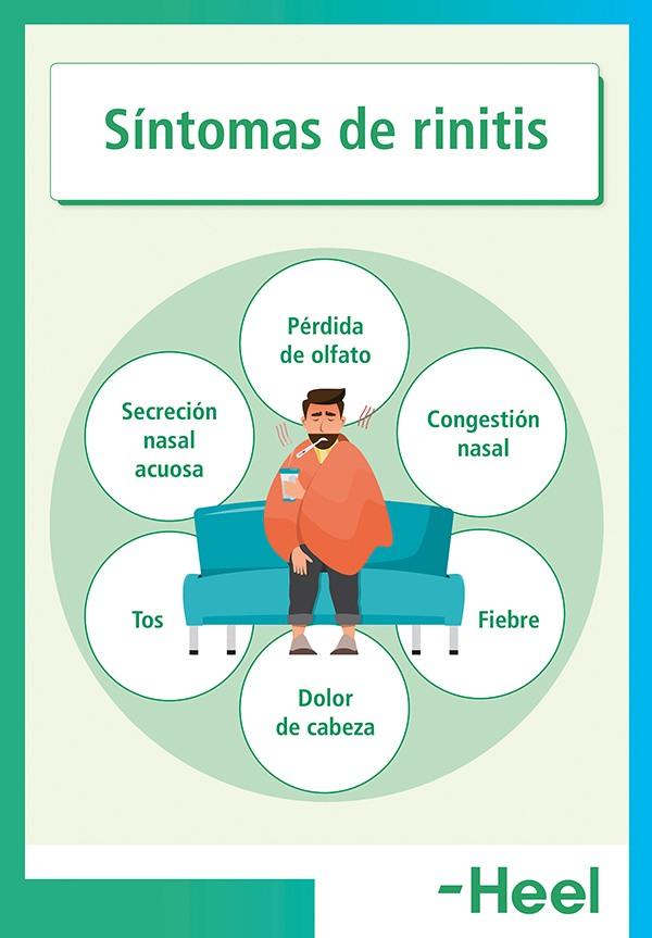 Tipos de rinitis: tratamiento - HeelEspaña