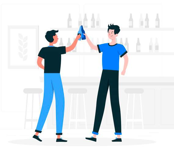 Así afecta el consumo de alcohol a nuestro sueño: amigos bebiendo alcohol heelespana - HeelEspaña