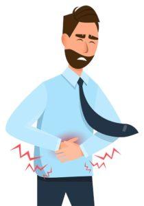 Digestiones pesadas en Navidad: cómo evitarlas: hombre ardor estomago cena heelespana 210x300 - HeelEspaña