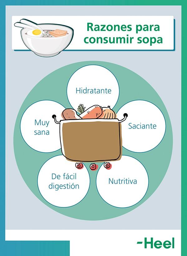 Sopa sana: ¿Por qué consumirla? - HeelEspaña