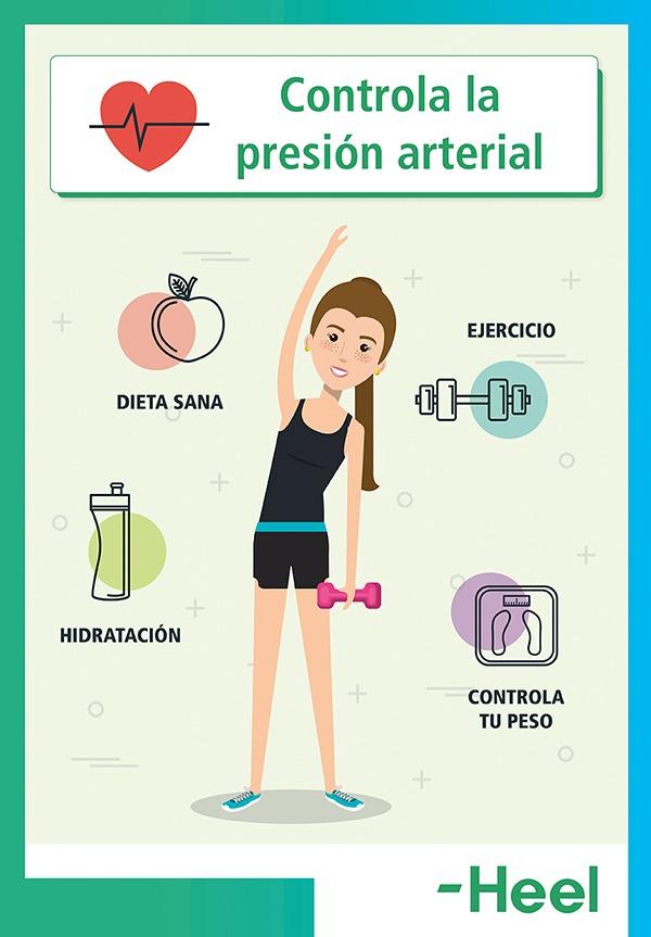Consejos para controlar la presión arterial - HeelEspaña