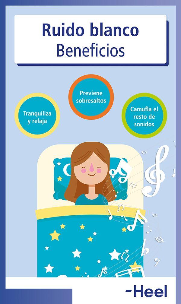 Dormir con ruido blanco: ventajas - HeelEspaña