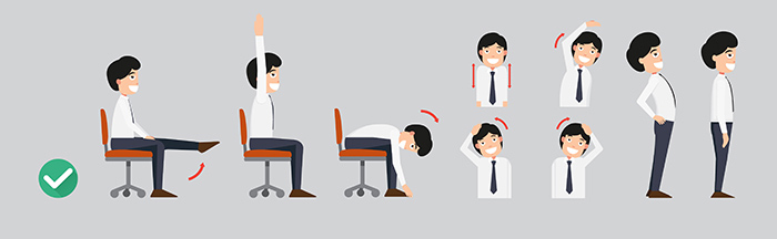 Postura correcta en la oficina - HeelEspaña