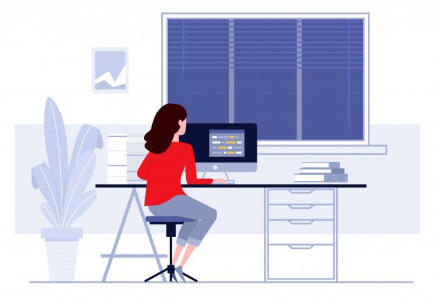 Postura correcta ante el ordenador: postura silla trabajo - HeelEspaña