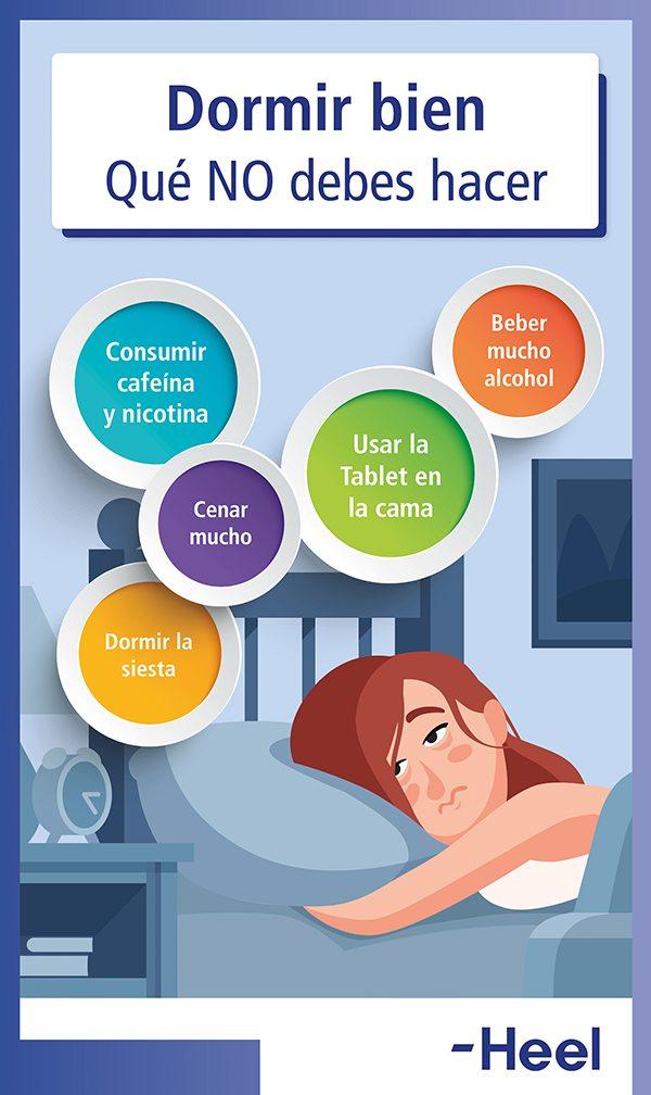 Antes de dormir: qué NO hacer - HeelEspaña