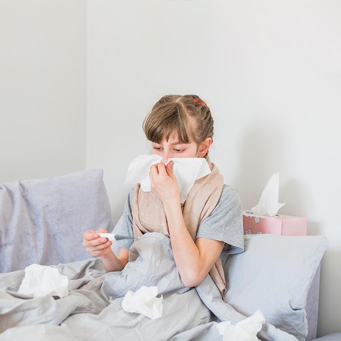 ¿Cómo aliviar la congestión nasal? - HeelEspaña