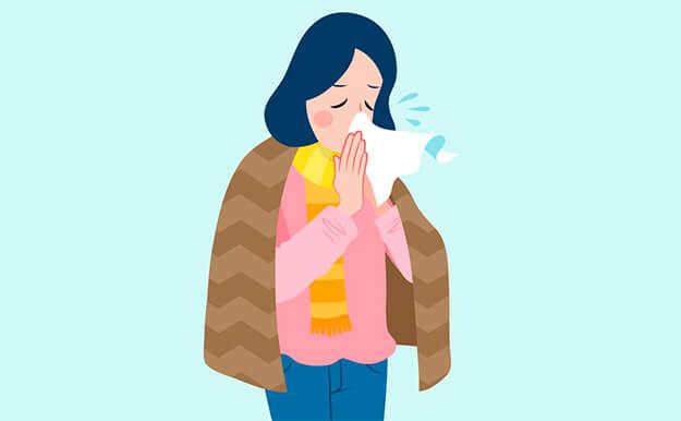Cómo curar un resfriado en 24 horas: diferencia gripe resfriado - HeelEspaña