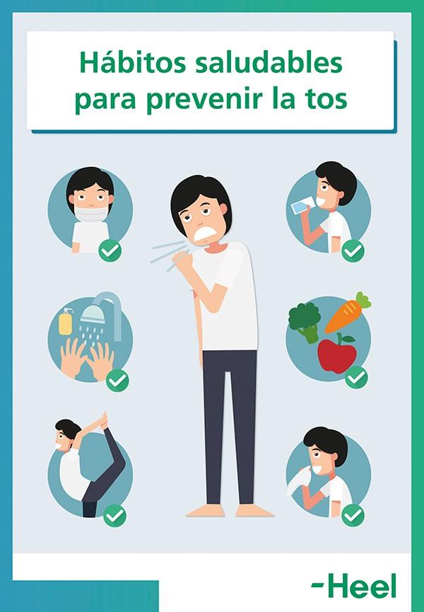 Hedera helix para la tos con expectoración - HeelEspaña