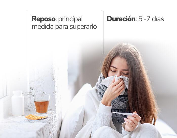 Cómo curar un resfriado en 24 horas: resfriado guardar reposo - HeelEspaña