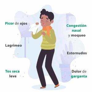 Cómo aliviar la congestión nasal: sintomas resfriado heelespana 300x300 - HeelEspaña