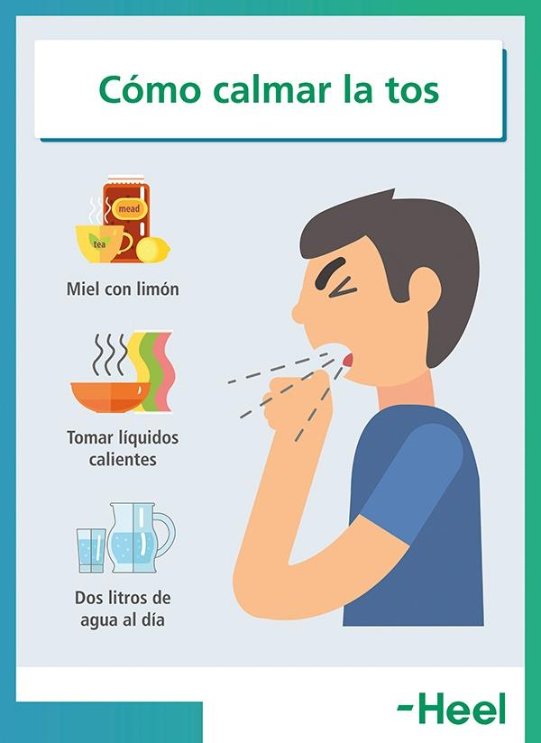 Consejos para saber cómo calmar la tos - HeelEspaña