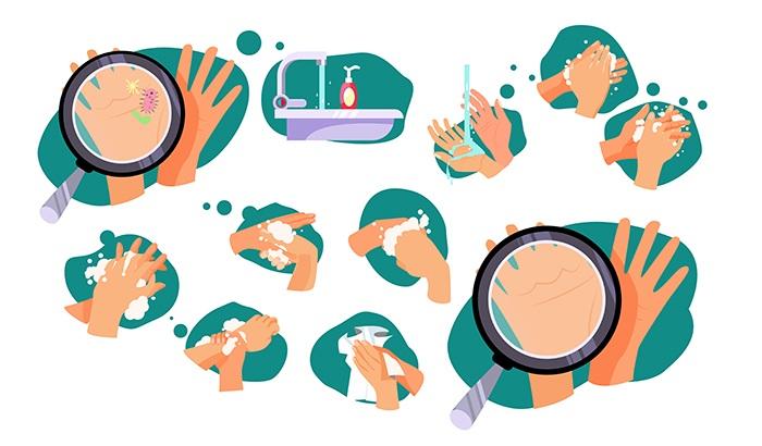 Higiene de la piel: lavado de manos - HeelEspaña