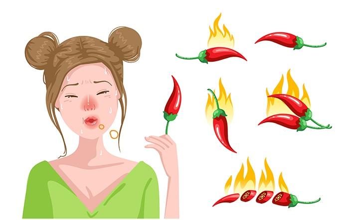 Comida picante, beneficios para la salud: comida picante heelprobiotics heelespana - HeelEspaña