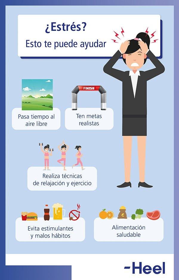 ¿Cuál es la relación entre estrés y sueño? - HeelEspaña