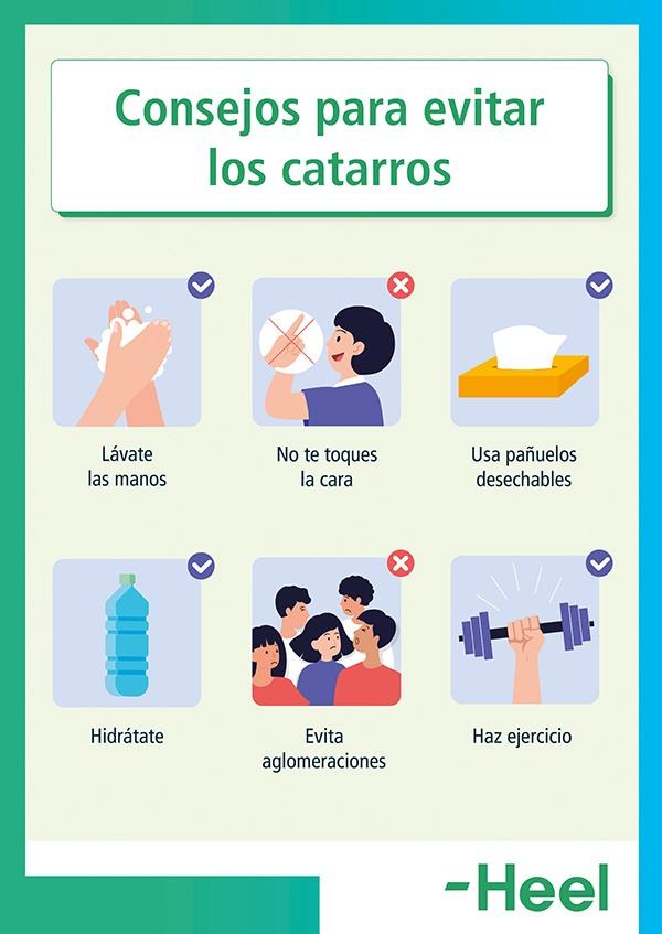 Cómo evitar un catarro - HeelEspaña
