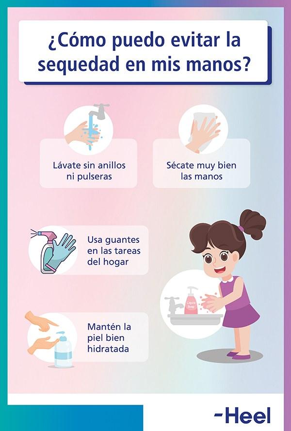 Cómo evitar la sequedad de las manos - HeelEspaña