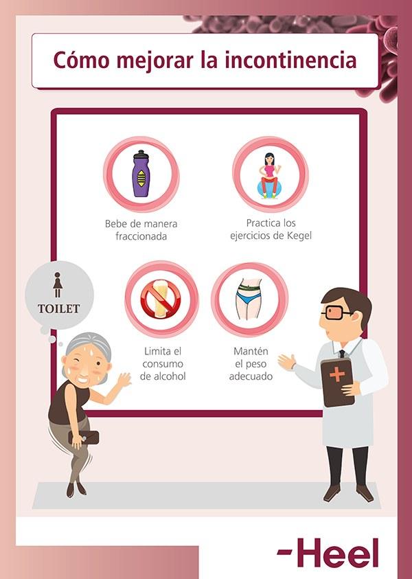 Evita la incontinencia: cuida tu vejiga - HeelProbiotics - HeelEspaña