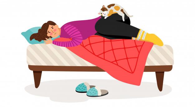 La importancia de la vitamina B12 en veganos: mujer deprimida gato 81894 3100 - HeelEspaña